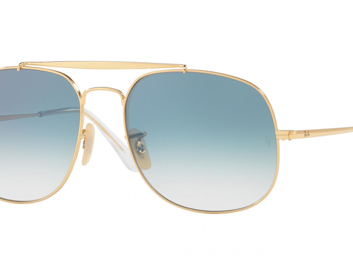 b91092584b Sunčane naočale Ray Ban THE GENERAL RB 3561: Boja: Gold Blue Shaded, ...