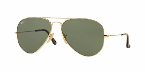 Sunčane naočale Ray Ban AVIATOR HAVANA COLLECTION RB 3025: Boja: Gold g-15 Classic Green, Veličina: 62/14/140, Spol: unisex, Materijal: metal