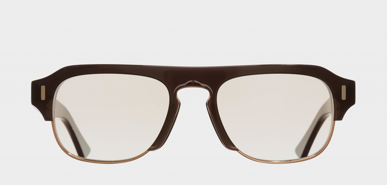 1353-03 GODFATHER GREY & COPPER SUNGLASSES
